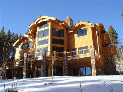 This is a magnificent home with grand mountain views from every window.