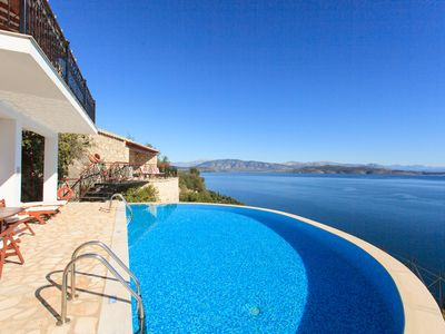 Photo for House On The Rocks: Large Private Pool, Walk to Beach, Sea Views, A/C, WiFi, Car Not Required