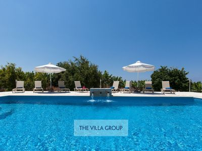 Photo for Pegeia Villa, Sleeps 8 with Pool, Air Con and WiFi