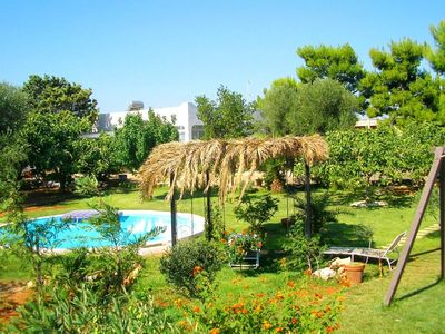 Photo for BRIGHT AND AMAZING VILLA WITH GREAT GARDEN AND SWIMMING-POOL,400 mt FOR THE SEA