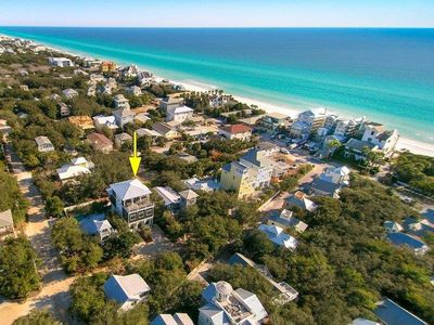 Photo for BRAND NEW LISTING NEXT TO SEASIDE!! - AERIAL VIEW  – Gulf and Seaside Views, Private Heated Pool,...