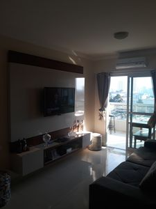 Photo for Beautiful furnished fit, in Canto do Forte, best neighborhood of Praia Grande