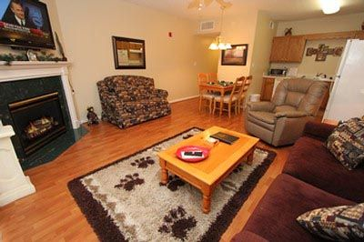 Photo for Leather Furniture • Private Balcony overlooking Pigeon Forge