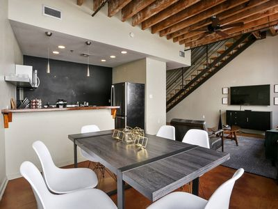 Photo for Stylish 3BR/3BA Industrial Apt in NOLA by Domio
