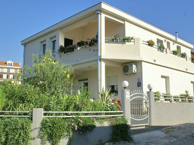 Photo for Beautiful apartments just outside Trogir (500 m), only 100 m away from the beach