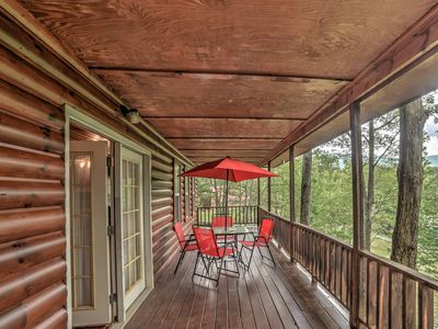 Photo for 'Point of View' Tellico Plains Cabin|Pets OK w/Spa