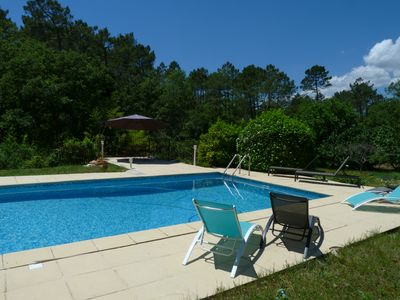 Photo for Fayence / 160m² / 5000m² / 4 bedrooms / Large swimming pool / Summer kitchen
