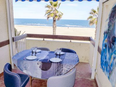 Photo for Apartment Ajoupa  in Canet - Plage, Pyrénées - Orientales - 6 persons, 2 bedrooms
