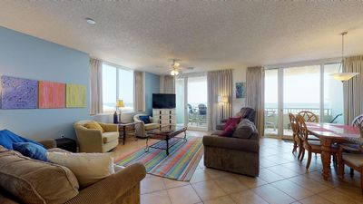 Photo for Wrap yourself in an extensive view of the Gulf! Book now, wont last long!