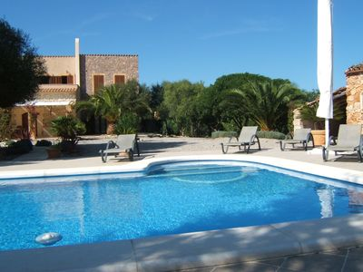 Photo for Santa Margalida/ Can Picafort: Romantische Natursteinfinca mit Pool (ET/2945)