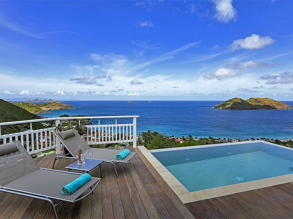 Best Island Beaches For Partying Mykonos St Barts: VILLA PERCHOIR ST BARTS: PEACEFUL HAVEN OF ...