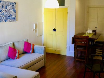 Photo for Charming apt with courtyard in central Porto!