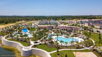 Photo for Enjoy Orlando With Us - Solara Resort - Amazing Relaxing 7 Beds 6.5 Baths  Pool Villa - 5 Miles To Disney