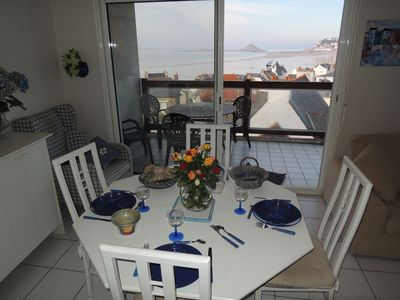 Photo for Central Apartment with Sea View and Balcony
