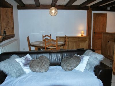 Photo for APARTMENT 2 PEOPLE IN BEAUTIFUL CONVERSION IN MORZINE