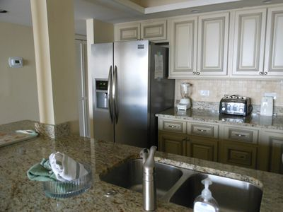Kitchen- new cabinetry, stainless appliances, granite countertops