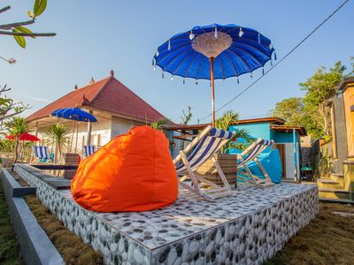 Photo for New CANDY hostel Ceningan for 4pax  with Snorkeling package