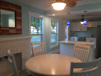 Photo for NEWLY RENOVATED BEACH COTTAGE WITH DIRECT WATER VIEWS