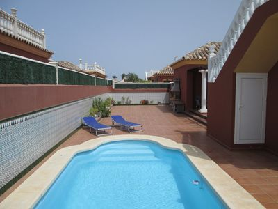 Photo for Exclusive Private Villa with Heated Pool and Free WiFi ..  A Home Away from Home