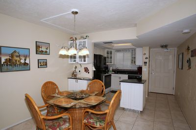Dining Table opens to kitchen