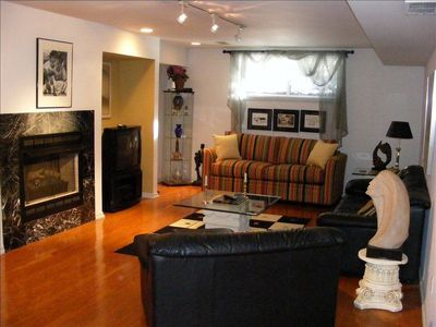 Living Room with all Necessary Amenities