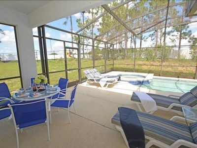 Photo for 4BR 3BA Disney Area Pool Home
