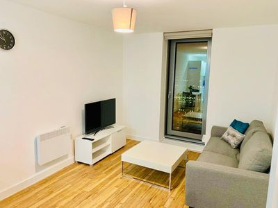 Photo for Brand New Media City High Floor 1 Bed W/Gym