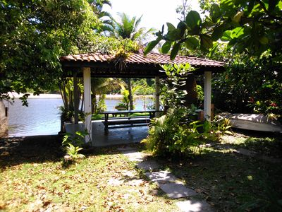 Photo for Paradisíaca House in Barra do Una, in front of the beach, with access for boat.