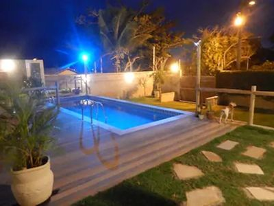 Photo for CHARMING HOUSE IN BÚZIOS FOR UP TO 20 GUESTS, SWIMMING POOL, BARBECUE, VAG 5 CARS