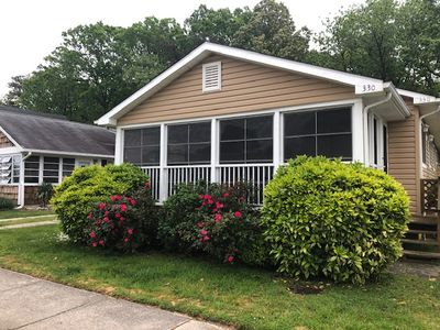 Photo for 330 Hickman Street - Classic Rehoboth Cottage, Sleeps 8, Pet Friendly, Only 3 Blocks to Beach, Family time on Front Porch