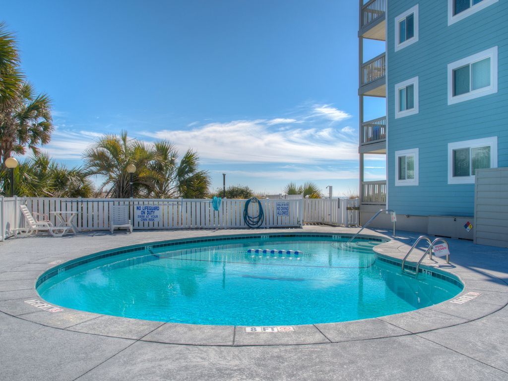 2 Bedroom Ocean Front Condo 2nd Level Booking 2018 North Myrtle Beach Myrtle Beach Grand
