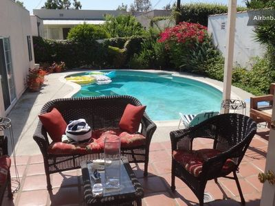 Photo for Beverly Hills 2 bedroom & 1 bathroom Pool House
