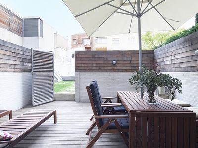 Photo for Great offer!Penthouse with Terrace and Pool near the Center of BCN for 8-FREE WIFI