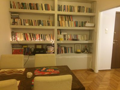 Photo for Comfortable apartment, in the heart of Athens, between Exarcheia and Kolonaki