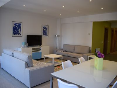 Photo for 4 bedroom apartment newly renovated in downtown Santander