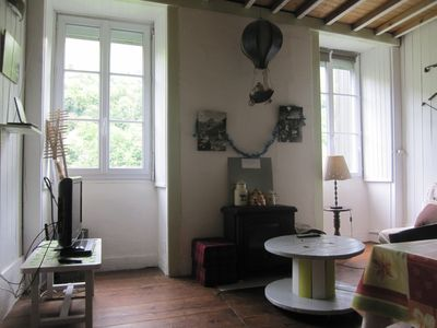Photo for Charming apartment - 5 people - near Gourette