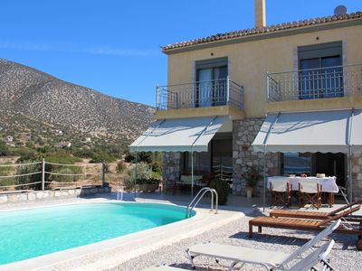 Photo for Your perfect holiday house: pool, great location, close to the beach, wifi | Arg