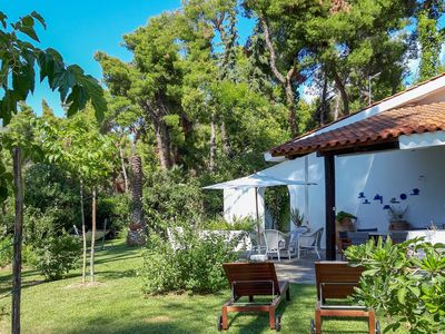 Photo for Villa Aurora in Sani with Garden and Pool, by JJ Hospitality