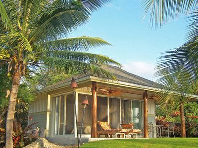 Photo for The Palm Bungalow- Luxurious Studio Hale in Kona!