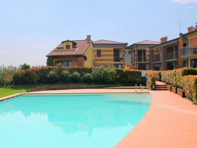 Photo for Bright Holiday Home in Lazise Italy with Swimming Pool