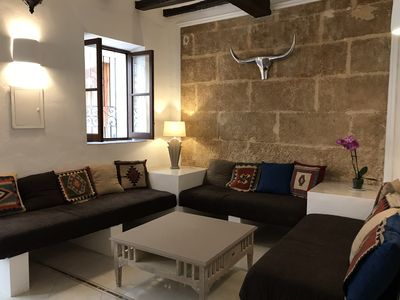 Photo for BEAUTIFUL 16 TH CENTURY HISTORIC TOWNHOUSE IN TEULADA'S OLD QUATER