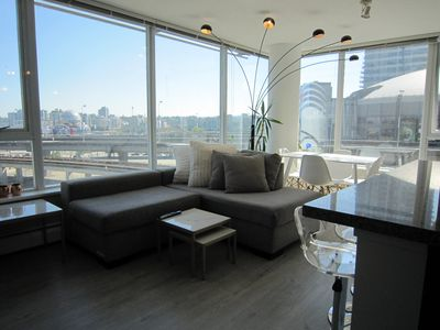Photo for Clean and lovely apartment downtown w/ 3 bedrooms , 2 bathrooms. 98 walk score.