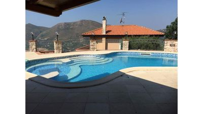 Photo for Amazing Villa with PRIVATE POOL AND LARGE GARDEN AND SEAVIEW