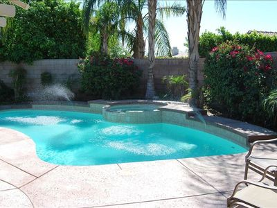 Privacy of your own pool with large back yard and patio.