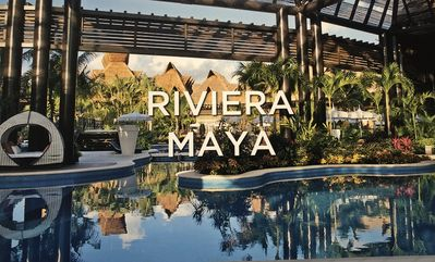 Photo for Ocean front Resort  1BR w/kitchen  (4A&2K) with Golf (2x1) in Mayan Palace in RM