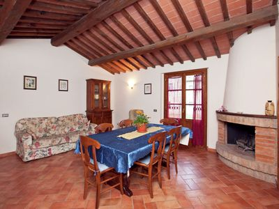 Photo for Spacious Holiday Home in Bucine with Private Pool