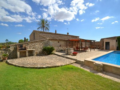 Photo for Lovely Holiday Home in Vilafranca de Bonany with Pool