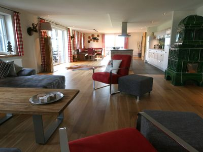 Photo for A comfortable, sunny and spacious (300m²) apartment for 8 - 14 people