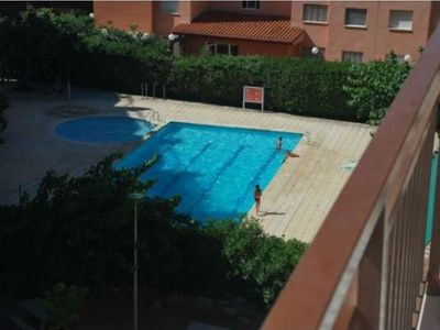 Photo for 128 - TECAVI. Apartment with sea views and pool.