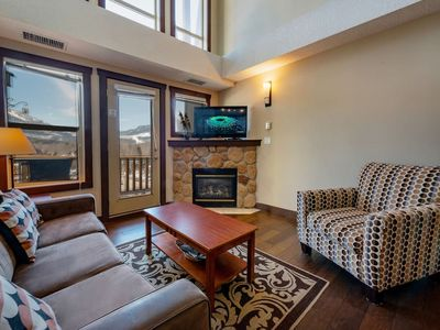 Photo for Silver Rock Penthouse with Ski Hill View